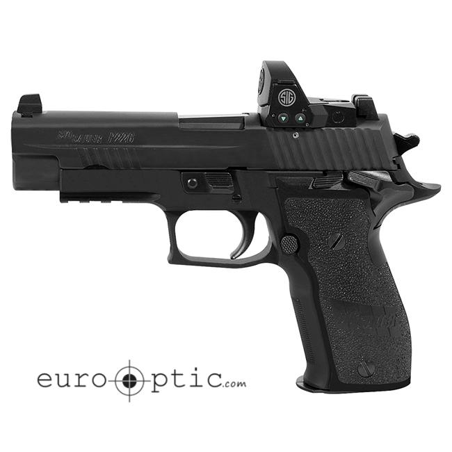 Sig Sauer E26R RX SAO 9mm 2x15rd Mags