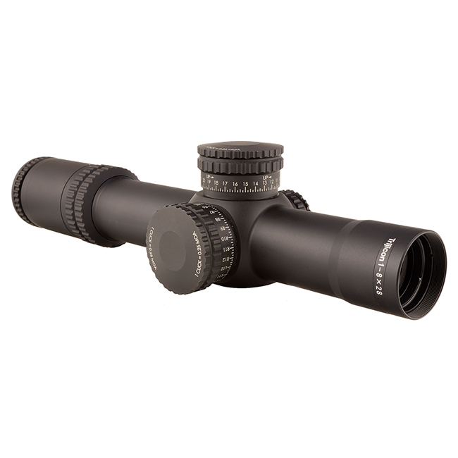 Trijicon AccuPower 1-8x28 MOA Red Sgmntd-Crc Scope RS27-C-1900026