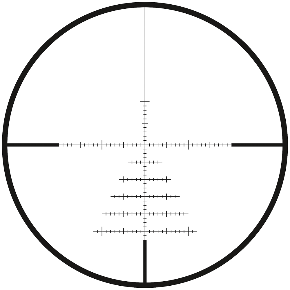 Zeiss CONQUEST V4 6-24x50 ZBR-1 Reticle (#91) Ext. Elevation Turret Ballistic Stop .25 MOA Parallax Adj. 522951-9991-080