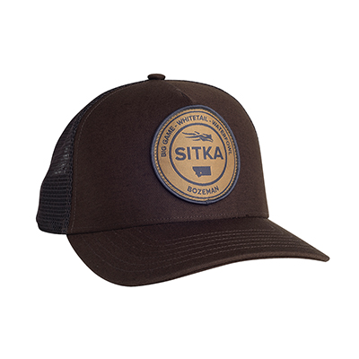 Sitka Seal Five Panel Patch Trucker Mud OSFA