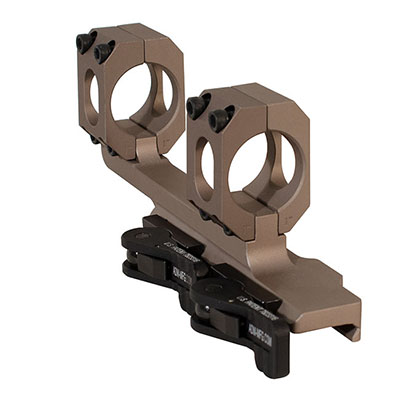 "ADM AD-Recon 30 MOA 1"" Tac Lever FDE Cantilever Scope Mount"