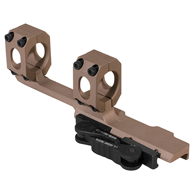 "ADM AD-RECON X 1"" STD Lever FDE Scope Mount"
