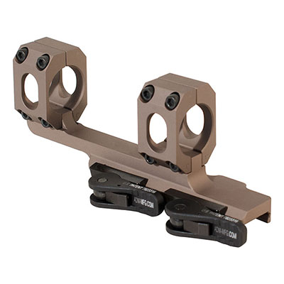 "ADM AD-RECON 1"" STD Lever FDE Cantilever Scope Mount"
