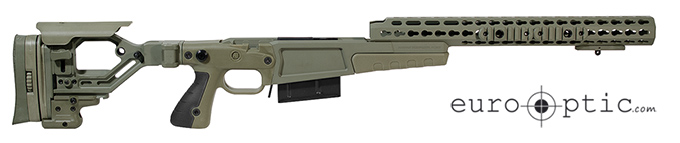 "Accuracy International AX AICS REM 700 LA .300 Win 16"" Forend Tube Sage Green Chassis 26713GR"
