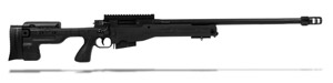 Accuracy International AT Rifle - Fixed Black Stock - 308 Win 24 inch threaded bbl std brake - small firing pin