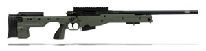 Accuracy International AT Rifle - Fixed Green Stock - 308 Win 20 inch non threaded bbl - small firing pin