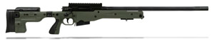 Accuracy International AT Rifle - Folding Green Stock - 308 Win 24 inch non threaded bbl - small firing pin