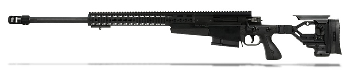 Accuracy International AXMC 300 Black chassis 26 inch barrel std brake - Left Hand A-XM300WMBL26SM-LH