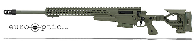 Accuracy International AXMC 300 Sage Green 26 inch barrel std brake Left Hand