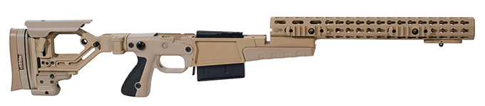 Accuracy International AX AICS Chassis Surgeon XL Pale Brown 27248PB