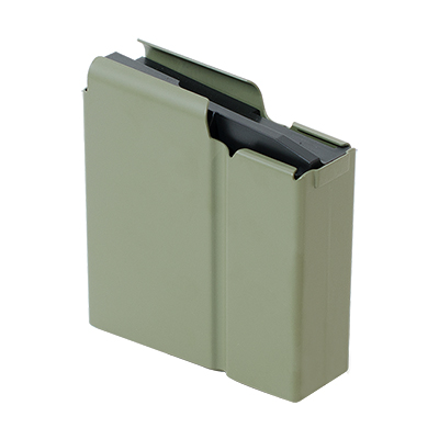 Accuracy International AX Rifle 10rd Magazine .338 Lapua Magnum CIP  Sage Green 6434GR