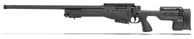 Accuracy International AT Black Rifle 6.5CM Fixed LH