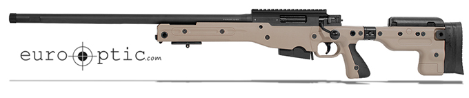 Accuracy International AT Pale Brown Rifle 6.5CM Folding LH