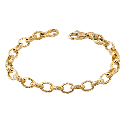 Alex Sepkus 18K and Diamond Bracelet