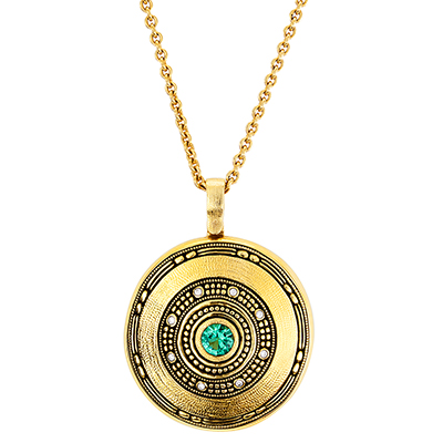 "Alex Sepkus 18K and Diamond ""Circle"" Pendant"