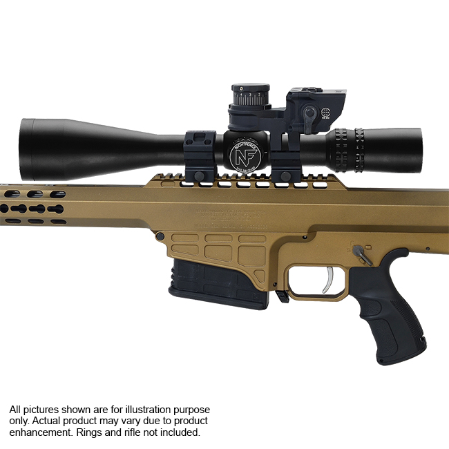 Nightforce NXS 3.5-15x50 ZeroStop Mil-R Riflescope and Barrett BORS 2.0 Kit BORS-12981-NF-C527-Kit