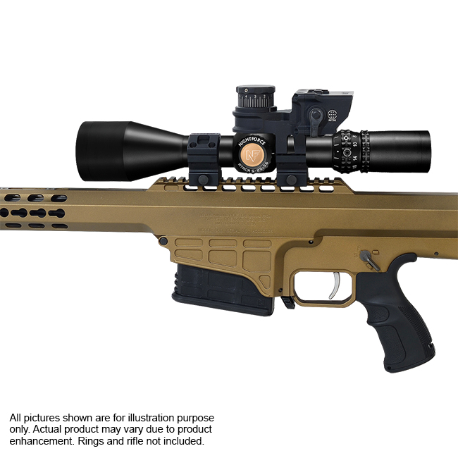 Nightforce ATACR 5-25x56 Mil-R Riflescope and Barrett BORS 2.0 Kit BORS-16499-NF-C555-Kit