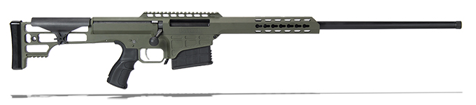 "Barrett 98B Lightweight 300 Win Mag Demo Rifle System - 24"" Light Barrel - OD Green Cerakoted Receiver 14831"