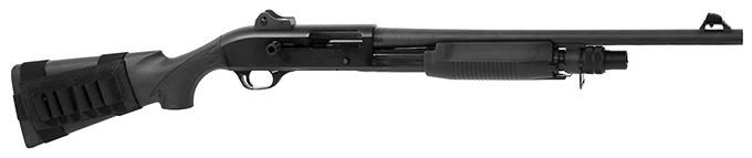 Benelli M3 Convertible Black synthetic, Pistol grip, Ghost-ring sight 19.75'' MPN 11606. Used UA1564
