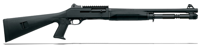 "Benelli M4 Tactical 12 gauge, 18.5"" Black synthetic 12120"
