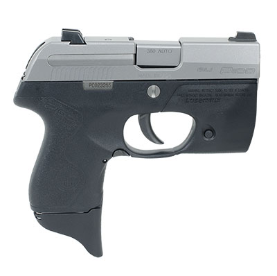 Beretta Pico .380 ACP Inox with LaserMax Light Grip Frame 6 Rounds JMP8D25LML