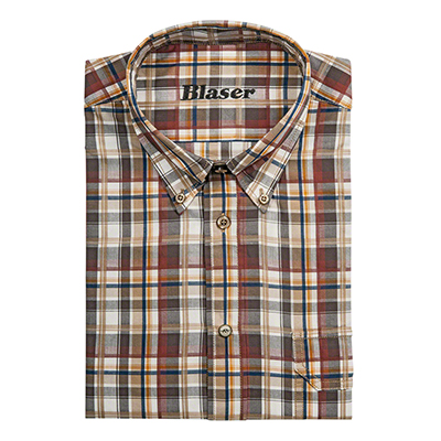 Blaser Men 's Georg Poplin Shirt MD BAOSMGPO