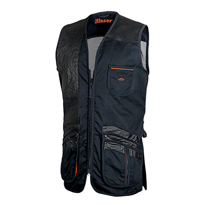Blaser Men 's Parcours Shooting Vest - Jan (Navy) MD BAOVMJAN