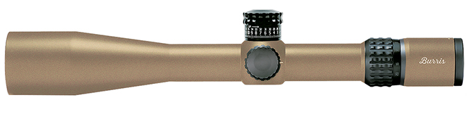 Burris XTRII 5-25x50mm Illum SCR Mil FDE Scope 201056