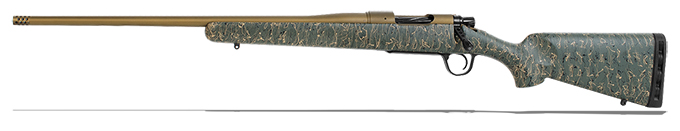 "Christensen Arms Mesa 308 Win 22"" 1:10 Green w/ Blk & Tan Webbing LH Rifle 801-01016-00"