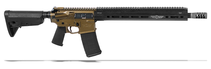 "Christensen Arms CA-15 VTAC 3-G .223 Wylde 16"" M-Lok Burnt Bronze Rifle CA10277-113522"
