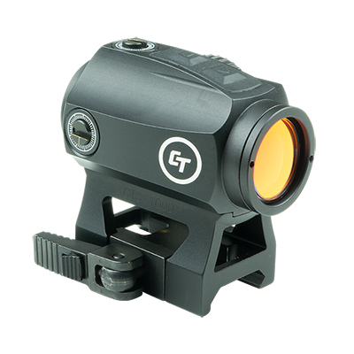 Crimson Trace CTS-1000 2.0 MOA Compact Tactical Red Dot Sight for Rifles, Electronic Sight