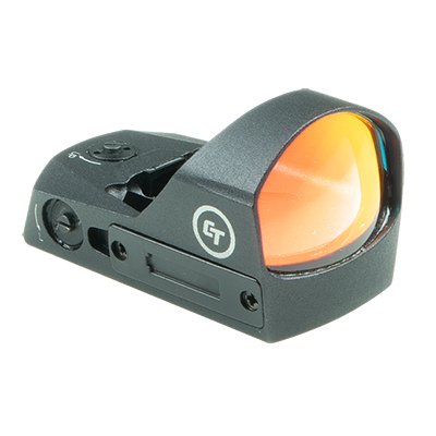 Crimson Trace CTS-1200 3.25 MOA Compact Open Reflex Sight for Pistols, Electronic Sight with External Battery Compartment, Mount Included