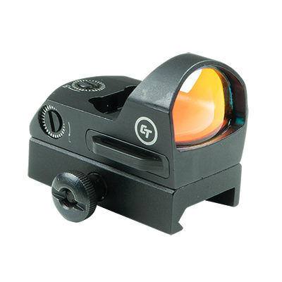 Crimson Trace CTS-1300 3.5 MOA Compact Open Reflex Sight for Rifles & Shotguns, Electronic Sight with External Battery Compartment, Mount Included