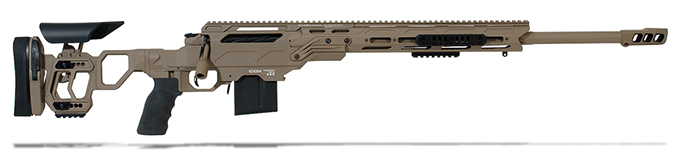 "Cadex Guardian Tac .260 Rem 24"" Tan Rifle CDX30-TAC-260-24"
