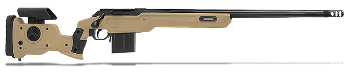 "Cadex Defense R7 Sheepdog Evo M-LOK, 6.5 Creedmoor, 24"" Hybrid Tan/Black Rifle CDXR7-SDOG-6.5-24-HTB-FT"