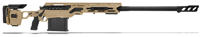 "Cadex Defense Tremor, 50BMG, 29"" Hybrid Tan/Black Rifle CDX50-DUAL-50-29-HTB-FT"