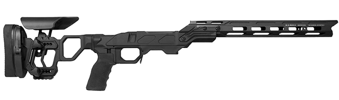 Cadex Field Competition Tikka-T3 Short Action Black Chassis