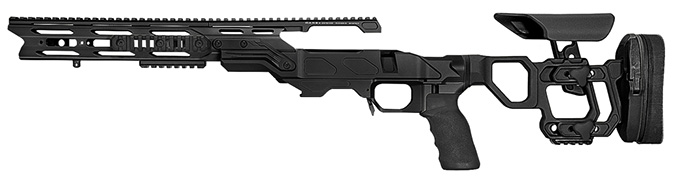 "Cadex Defense Field Tactical Black Rem 700 SA LH Skeleton Fixed 20 MOA for DSSF 3.055"" Chassis STKFT-REM-LH-SA-B-20-B-BLK"