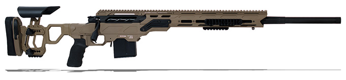 "Cadex Guardian Tac rifle with Skeleton Buttstock, 6.5 Creedmoor,26"" MPN CDX30-TAC-6.5-26"