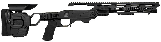 "Cadex Defense Lite Strike Black Rem 700 SA Standard Folding 20 MOA for DSSF 3.055"" Chassis STKLT-REM-RH-SA-R-20-B-BLK"