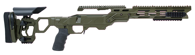 Field Tactical with Skeleton Buttstock (for Remington 700) Short Action OD Green