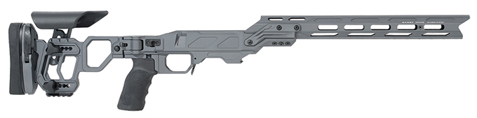 Cadex Defense Lite Competition (for RH Remington 700/Defiance Deviant .308) Short Action Sniper Grey STKLCP-REM-RH-SA