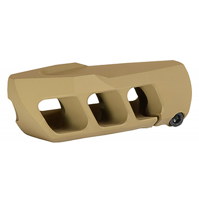 Cadex MX1 7/8-24 (.408 Cheytac) Thread Tan Muzzle Brake 3850-045