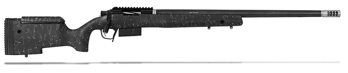 "Christensen Arms B.A. Tactical 308 Win 24"" Black W/Gray Webbing Rifle CA10270-484481"