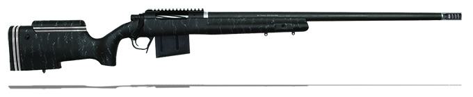 "Christensen Arms B.A. Tactical .338 Lapua Mag 27"" Black W/Gray Webbing Rifle CA10270-787481"
