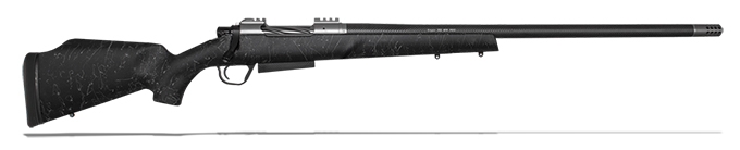 "Christensen Arms Rogue .243 Win 24"" Monte Carlo Black W/Gray Webbing Rifle CA10265-K14411"