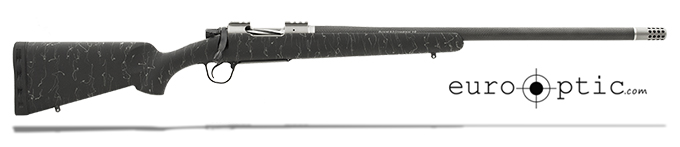 "Christensen Arms Summit Ti 6.5 Creedmoor 24"" Black W/Gray Webbing Rifle CA10268-H14231"