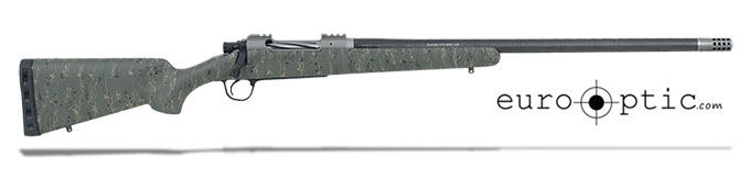 "Christensen Arms Summit Ti .300 WSM 24"" Green W/Black And Tan Webbing Rifle CA10268-614433"