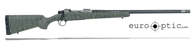 "Christensen Arms Summit Ti .375 H&H 24"" Green W/Black And Tan Webbing Rifle CA10268-R14533"