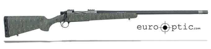 "Christensen Arms Summit Ti .300 RUM 26"" Green W/Black And Tan Webbing Rifle CA10268-115433"